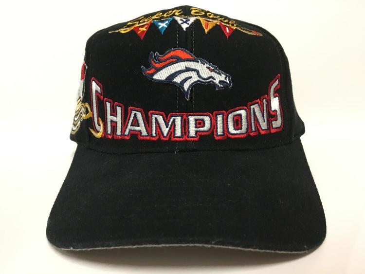 Vintage Denver Broncos SuperBowl 32 Champions Snapback - SOLD c295c241e