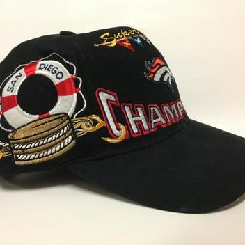 a913f7215aa Vintage Denver Broncos SuperBowl 32 Champions Snapback - SOLD