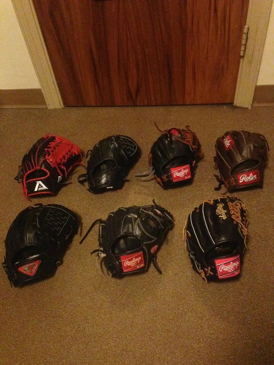 Rawlings, Akadema, Rolin, TPX, and Nike Gloves - SOLD