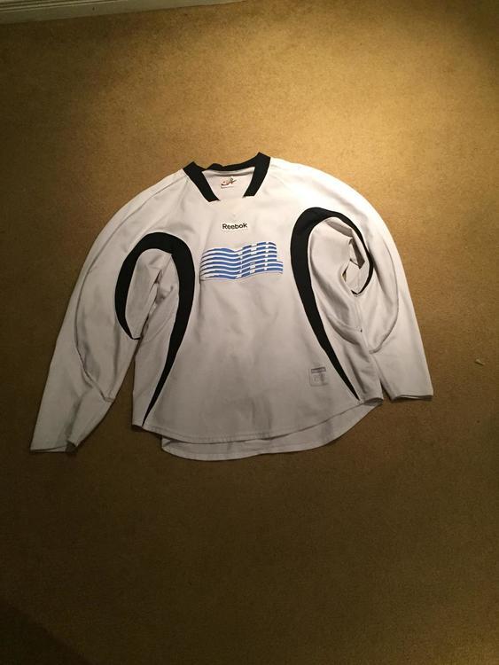 Reebok OHL Practice Jersey 56 (White) Pro Stock  0a13d414f9e