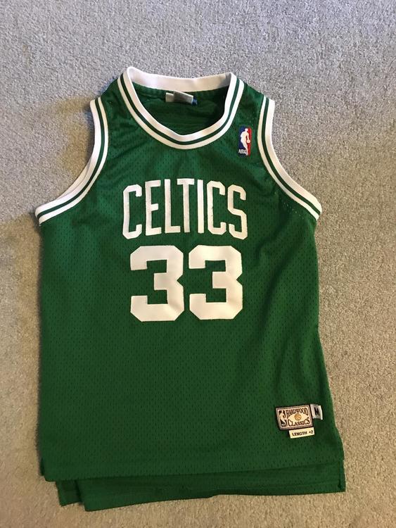 best sneakers 7549b 826d9 Boston Celtics Larry Bird Jersey