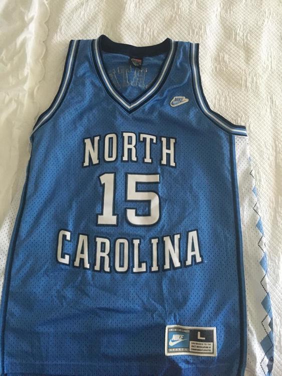 new product 99de3 4fec8 North Carolina Vince Carter Jersey