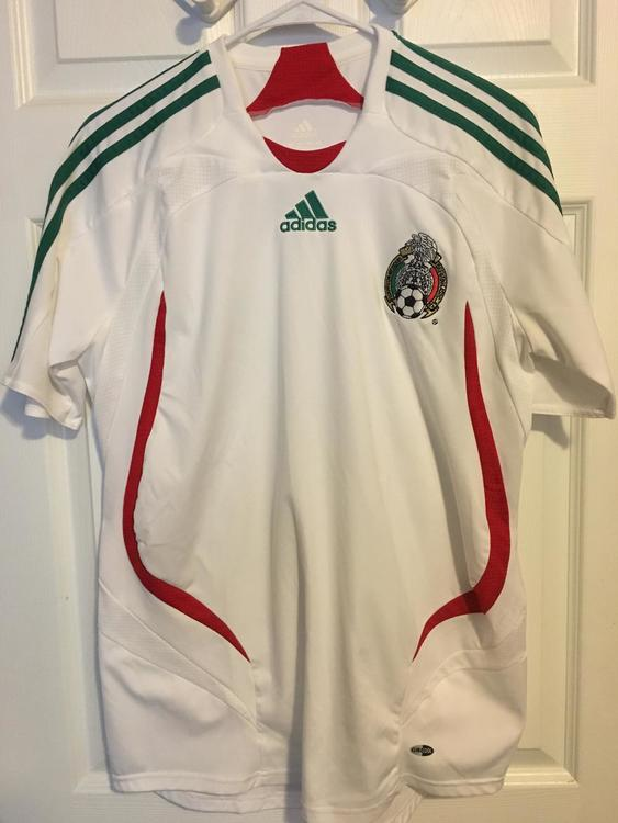625dbffd2 Adidas New 2007 2008 White Mexico Jersey