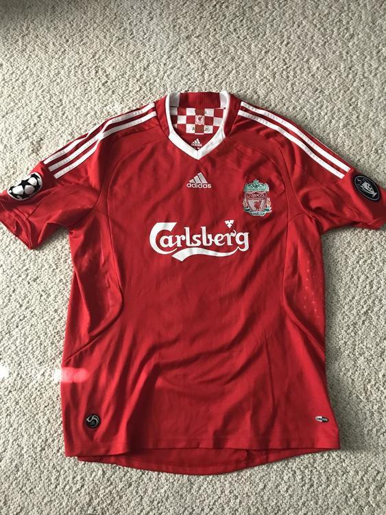 Adidas Liverpool UEFA Champions League Fernando Torres Jersey  b621ee09b