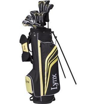 Lynx Predator Golf Club Set