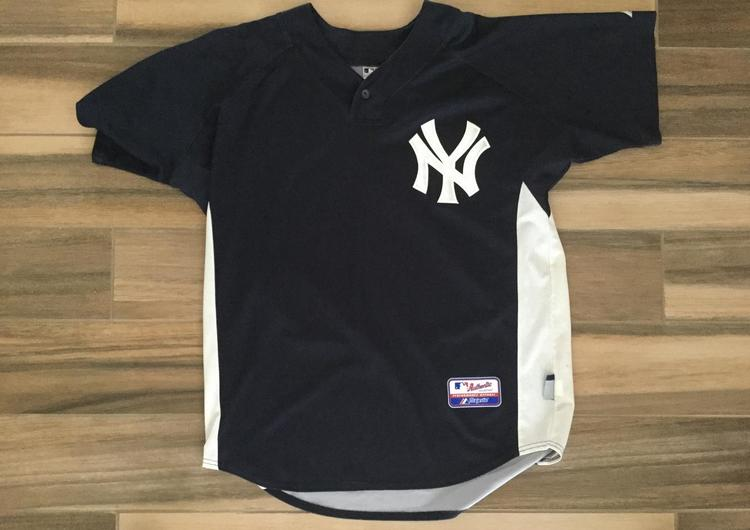 buy popular 24444 ec5a1 New York Yankees Spring Training Jersey