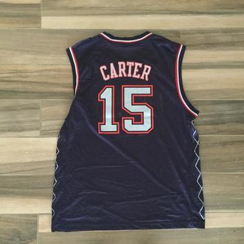 e9a5b249816 Adidas New Jersey Nets Vince Carter Jersey