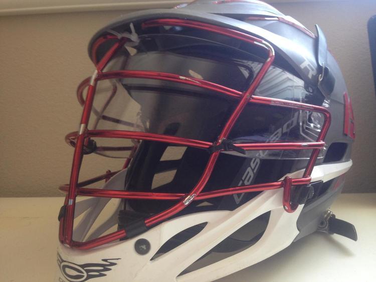 Cascade Custom Helmet Visor Works With R And Cpx R