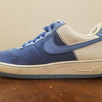 Nike Air Force 1 Low 07 Diamond Royal - SOLD 02b8cf062c5a