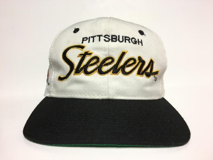 Vintage Pittsburgh Steelers Sports Specialties Script Snapback - SOLD 4950e39972e