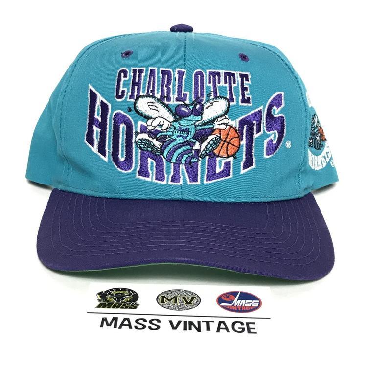 Vintage Charlotte Hornets Snapback - EXPIRED 2fb01873148