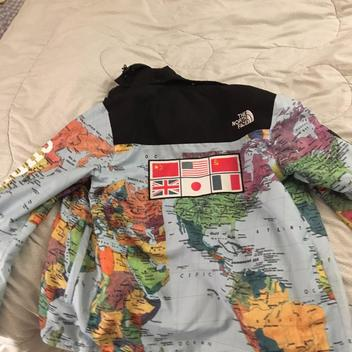 a667fca8d replica Supreme North Face Map Jacket | SOLD | Lacrosse Apparel ...