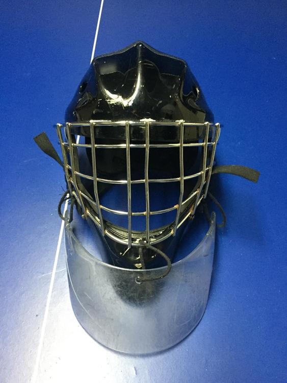 Sportsmask Mask With Itech Dangler Sold Hockey Goalie Sidelineswap
