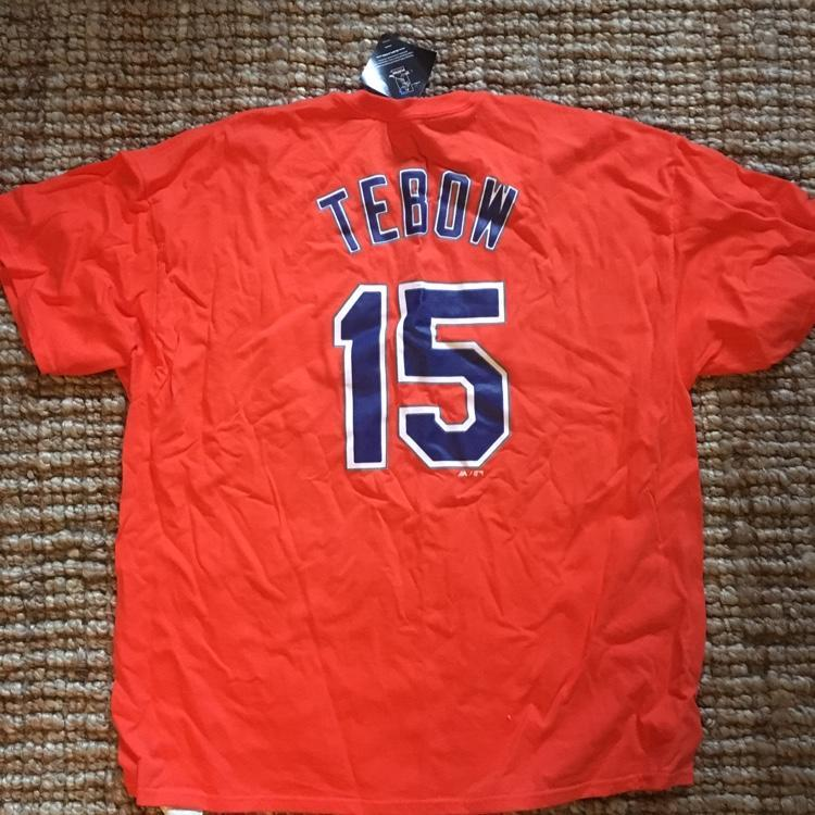 separation shoes d71f6 b4242 TIM TEBOW Mets Shirt College Gameday!!!
