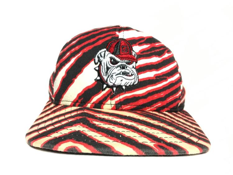 Vintage Georgia Bulldogs Zubaz Snapback hat - SOLD c803bed4a59