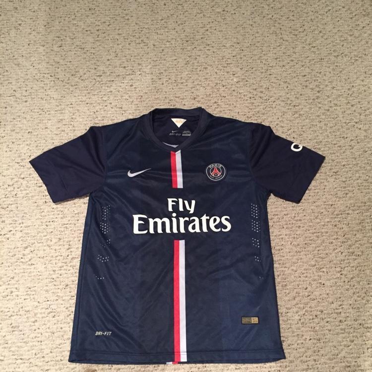 online retailer 97775 7aa44 Nike Dri-Fit PSG Ibrahimovic Jersey
