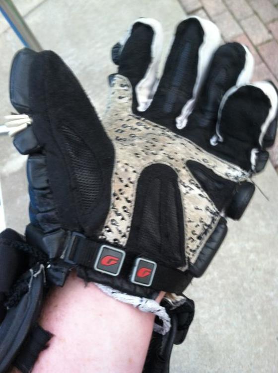 "Gait Chaos Size 12""   Lacrosse Gloves   SidelineSwap"