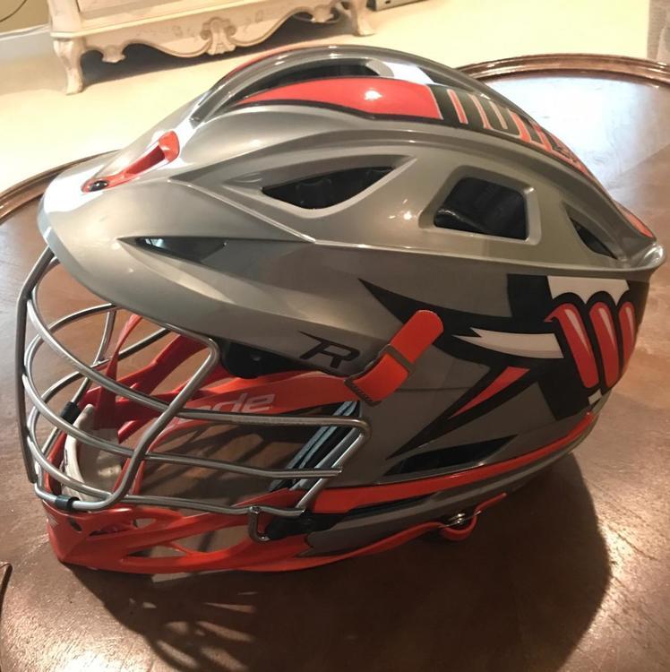 2014 Denver Outlaws helmet mint Condition **NO TRADES**