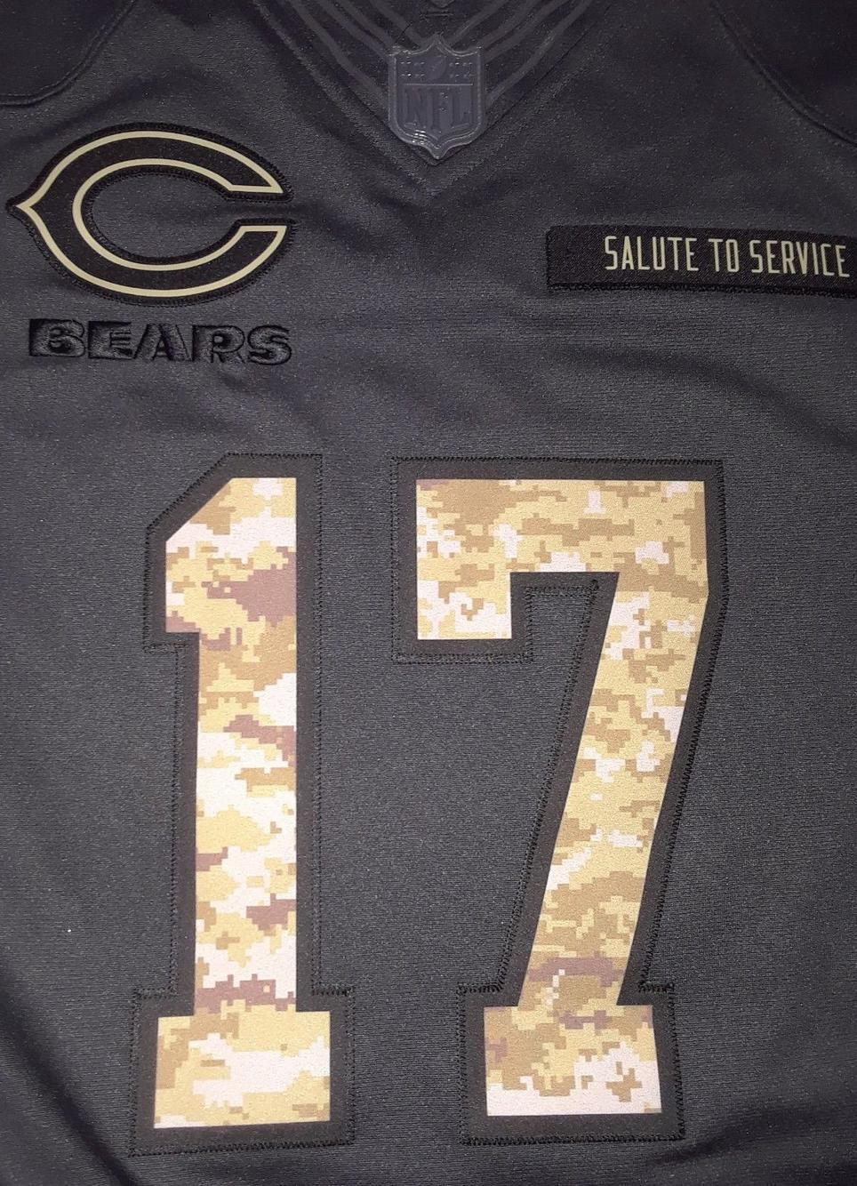 6d8c878f9 ... Nike Chicago Bears 17 Jeffrey jersey Salute to Soldiers limited edition  Football Hats Apparel SidelineSwap ...