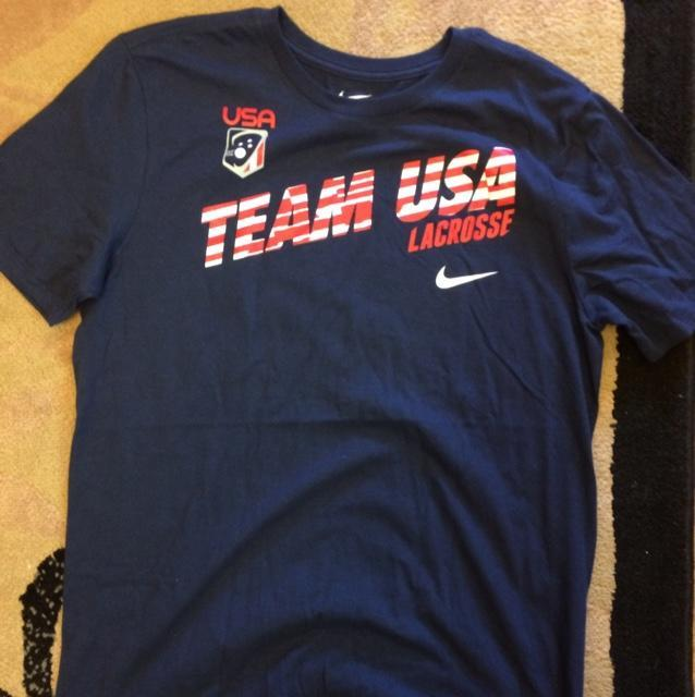aa7129adcd4db Nike Team USA Shirt Size Large | SOLD | Lacrosse Apparel | SidelineSwap
