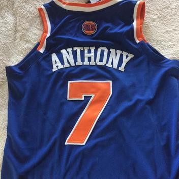 90fde2a2 ... new zealand new carmelo anthony knicks swingman jersey size 50 expired  0c378 d2dd0