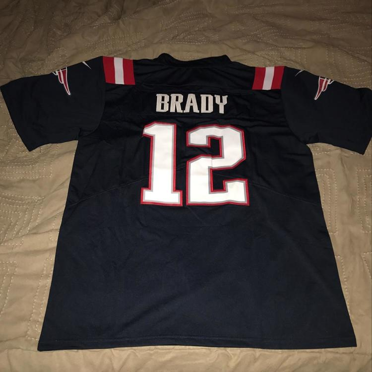 sneakers for cheap 3c74b 3de9f Tom Brady New England Patriots Super Bowl 51 Nike Color Rush Jersey