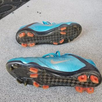 the latest 46080 01ff6 Nike Mercurial Vapor Superfly I orion blue 8.5us   SOLD   Soccer ...