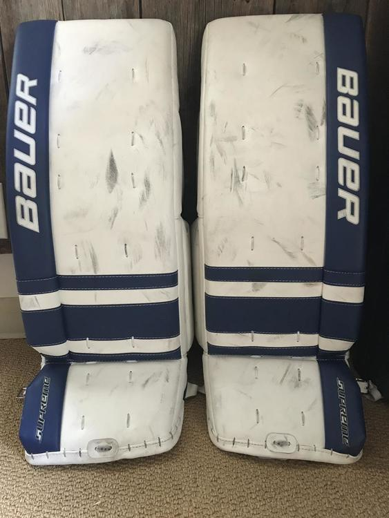 Bauer One 9 30 1 Vintage Blue Pads With 6 Myflex Foam Strips Sold