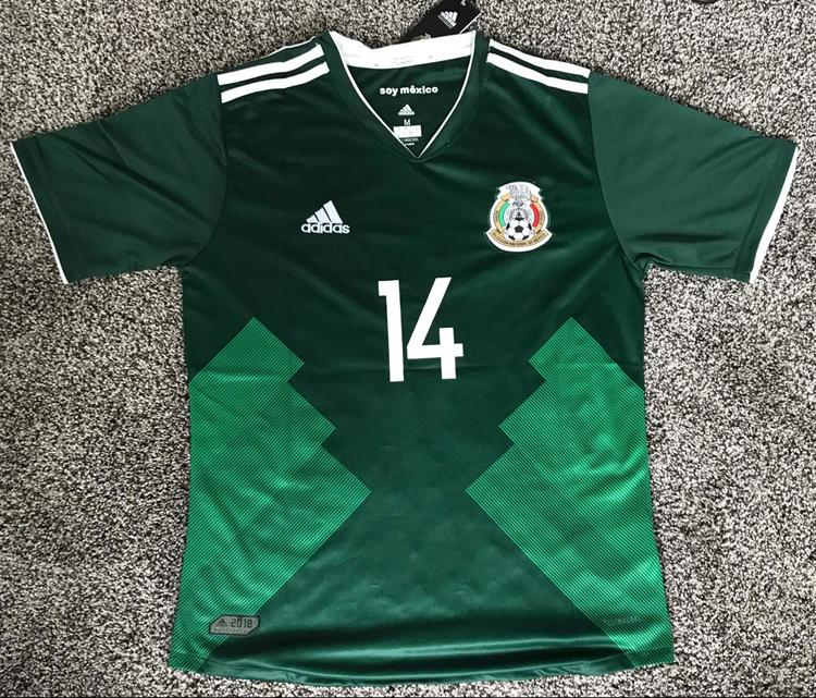 new concept b5f2e 99ca3 mexico international soccer jersey