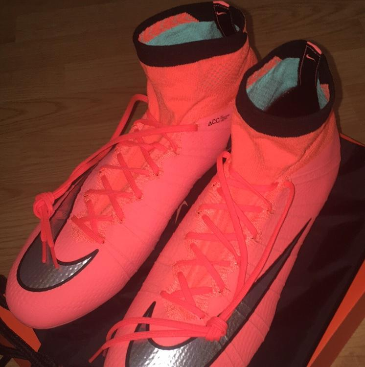 pretty nice d5246 58ab4 Nike Mercurial Superfly 4 FG Bright Mango  SOLD  Soccer Cleats   SidelineSwap