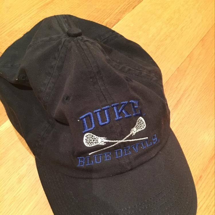 Duke Blue Devils Hat Sold Lacrosse Apparel Sidelineswap
