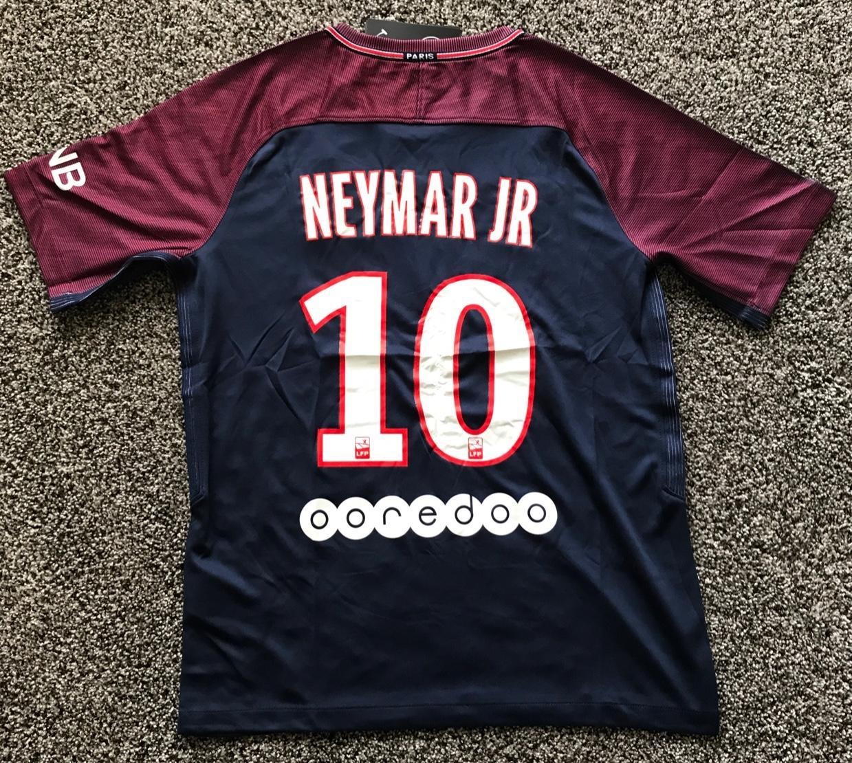 Psg black and pink jersey - Psg Neymar Home Soccer Jersey M