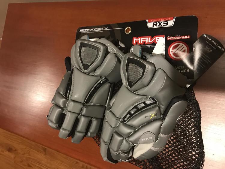 Maverik Rome Rx3 Goalie Gloves Size 13 Large Sold