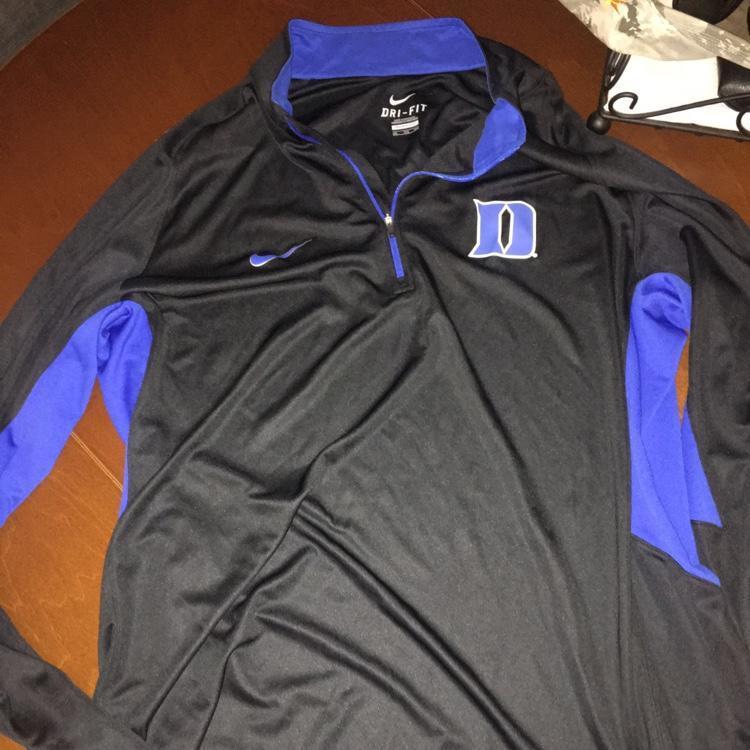 new products 99c02 12aee Duke 1/4 Zip Black Men's Basketball Shooting Shirt