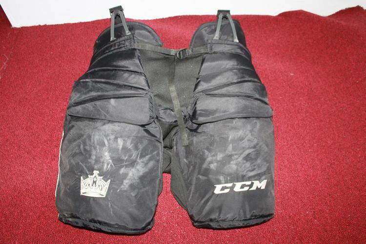 c8d188e1c7c LA Kings Manchester Monarchs CCM HPG138 Pro Stock Goalie Pants