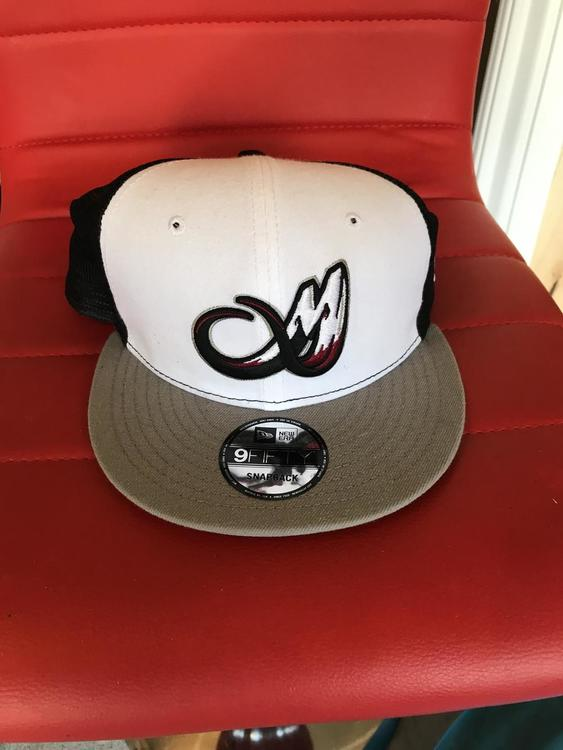 Colorado mammoth official player hat from 2017 season - SOLD 35379143ed8