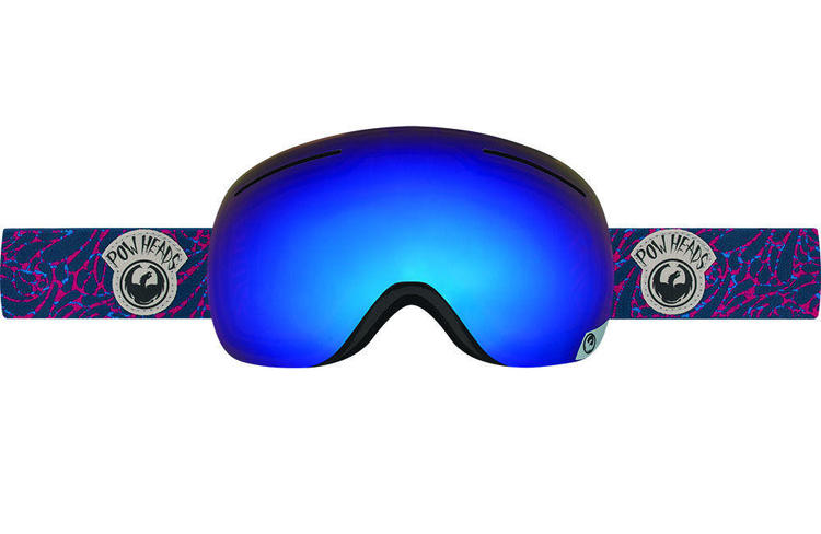0faf051780d9 Dragon Alliance X1 Ski PowerHeads red blue steel+yellow red Ionized NEW