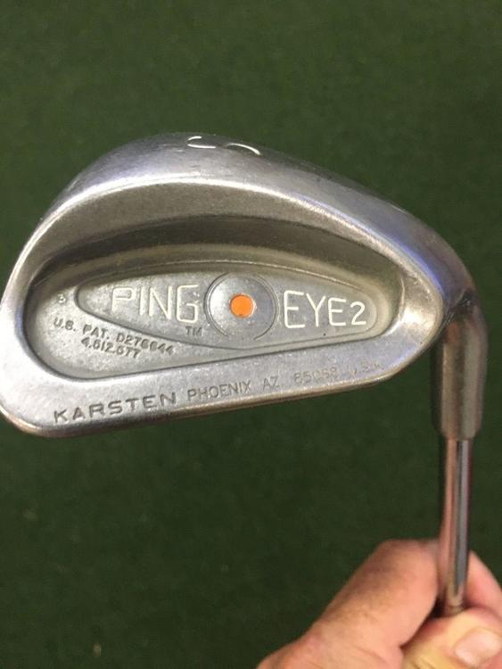 Ping Eye 2 Sand Wedge Orange Dot Steel Shaft 34 1 Length