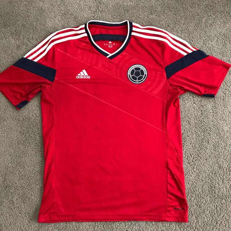 Adidas Colombia Away Jersey FIFA World Cup Brazil 2014  fc317df01