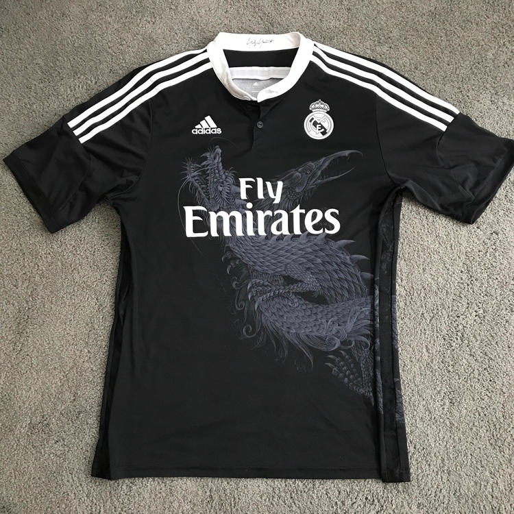 new product 9c5ed 4c5cb Adidas James Rodriguez Real Madrid Away Jersey