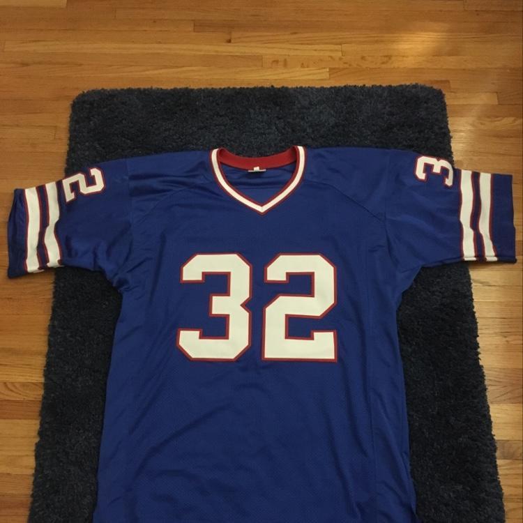 competitive price 82a2e d67ac Stitched OJ Simpson Buffalo Bills Jersey