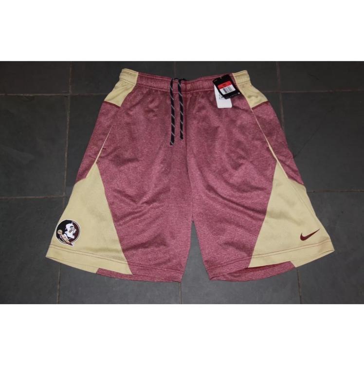 NWT Nike Men s FSU Florida State Seminoles Sideline 5.0 Shorts LG  55 - SOLD 92d7820b033