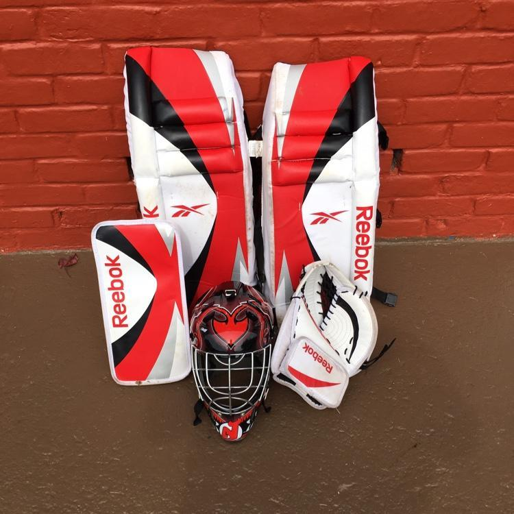 Reebok Youth Street Set Sold Hockey Goalie Sidelineswap
