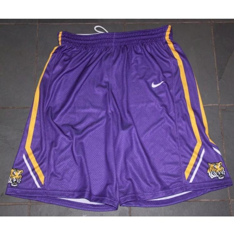 0b97c65c133d Nike New Mens LSU Tigers Elite Respect Shorts  75 LG