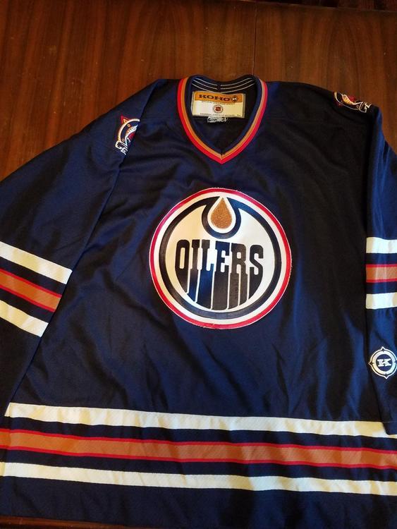 the latest dc149 19ad6 Koho Edmonton Oilers jersey XL