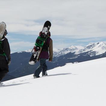 af82ec4f7a NEW! ORION METHOD BACKCOUNTRY SNOWBOARD BACKPACK GRAY BLACK (M L ...
