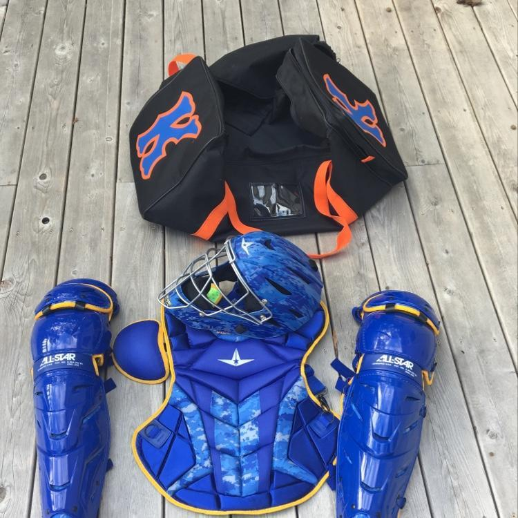 All Star Axis Custom Pro Set Brand New With Bag   SOLD   Baseball ... 531f5c0104