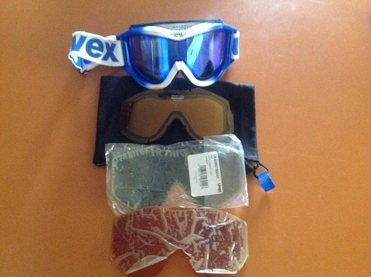 GSD Kid Goggles 540 in retail box 4-7 fit Anti-Fog single lens store wear   New