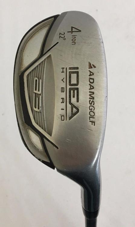 Adams Idea A3 Boxer 22 4 Iron Hybrid Graphite Lite Flex Expired Golf Clubs Sidelineswap