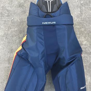 fd1be5d6fcb Bauer Nexus Pro Stock Hockey Pants Navy Blue Peoria Rivermen Large 10224.  Comments (3) Favorites (13)